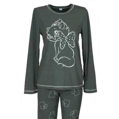 Дамска зимна пижама