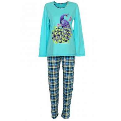 Дамска пижама Паун