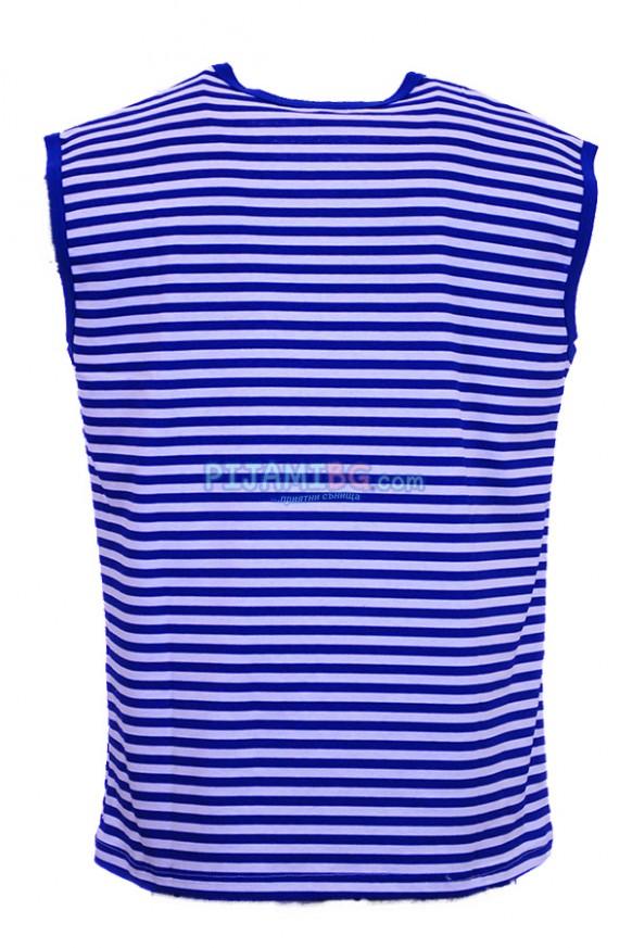 моряшка тениска без ръкави, Златев, гръб