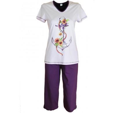 Дамска пижама котва