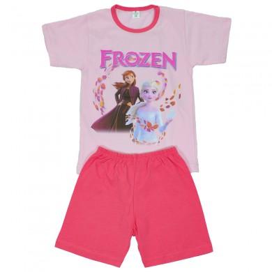 Детска пижама с къс ръкав за момиче с популярни герои