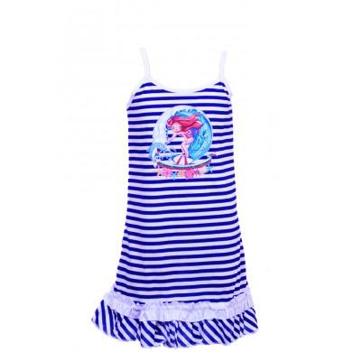 Детска рокля с тънка презрамка