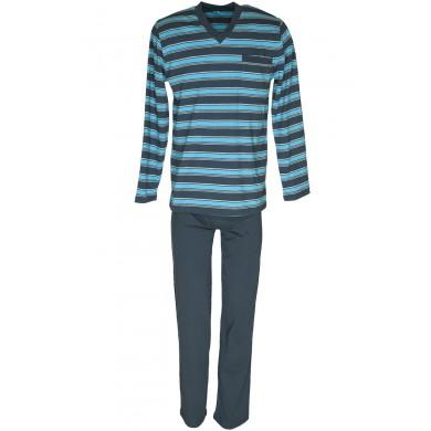 Мъжка пижама с дълъг ръкав