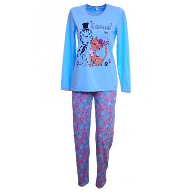 Дамска пижама Котета