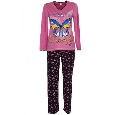 Юношеска пижама с дълъг ръкав