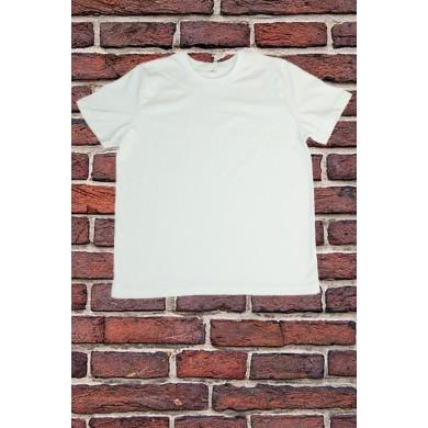 Бяла тениска с къс ръкав